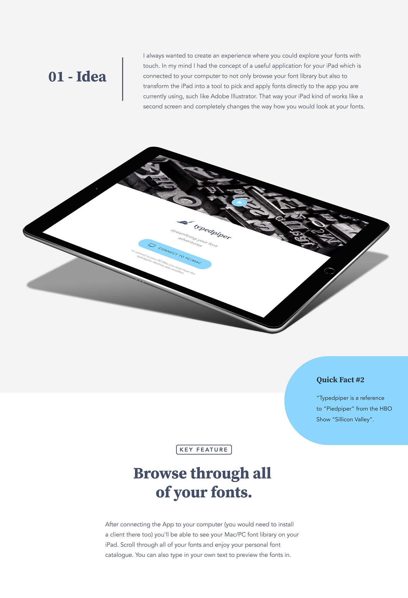 typography   font adobe typekit prototype iPad tool live tutorial bauhaus