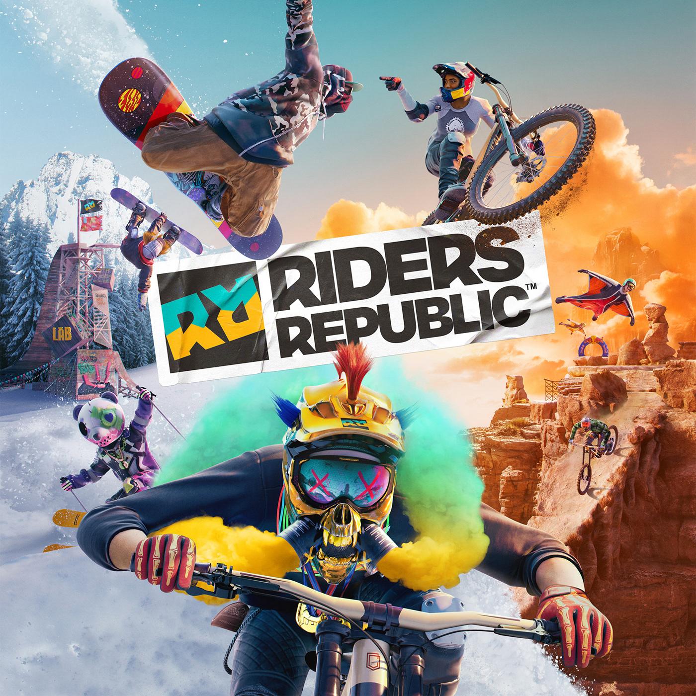 art cover game Republic riders riders republic  sport ubisoft