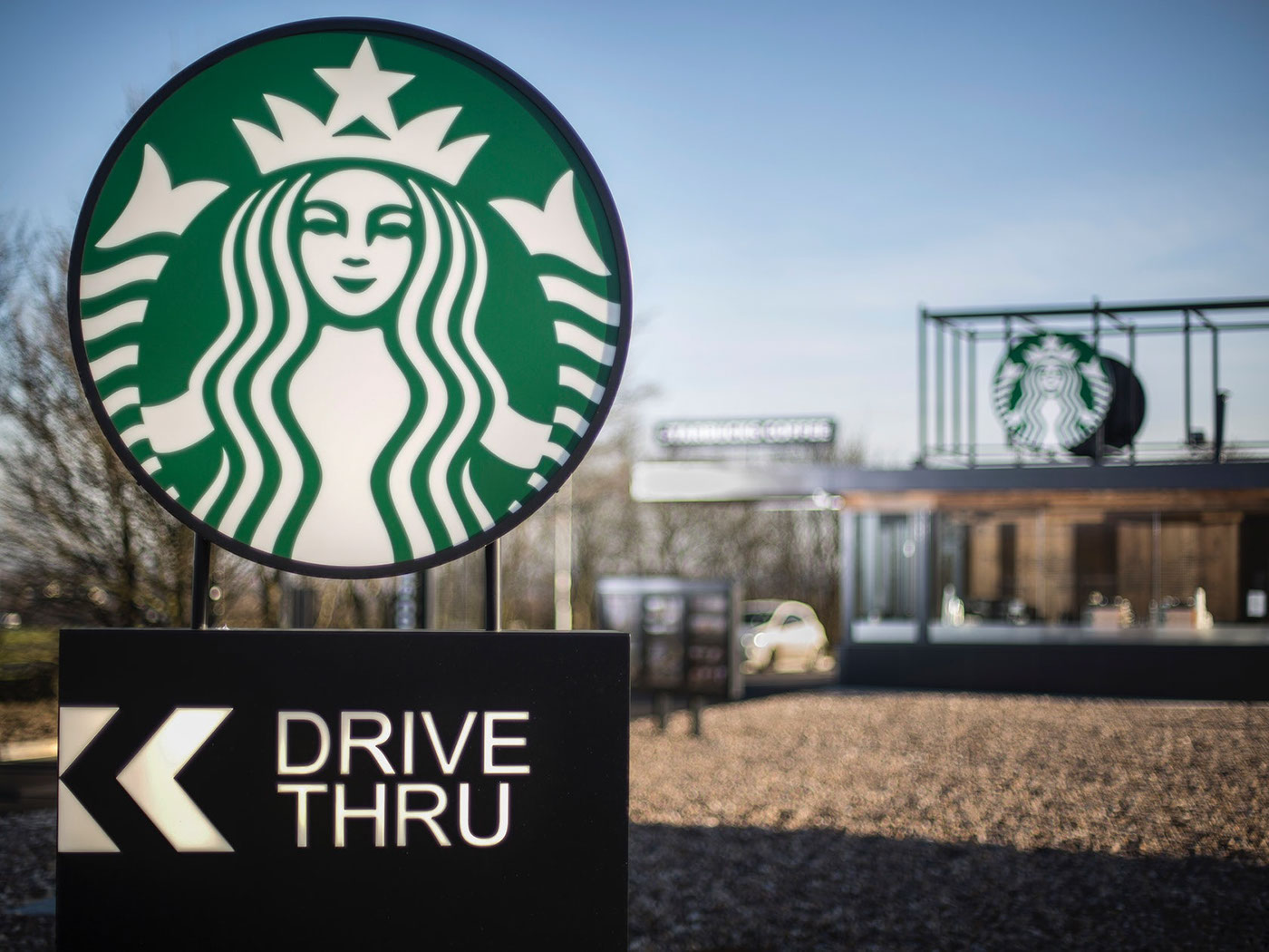 Starbucks Drive Thru - Woodall Services on Behance