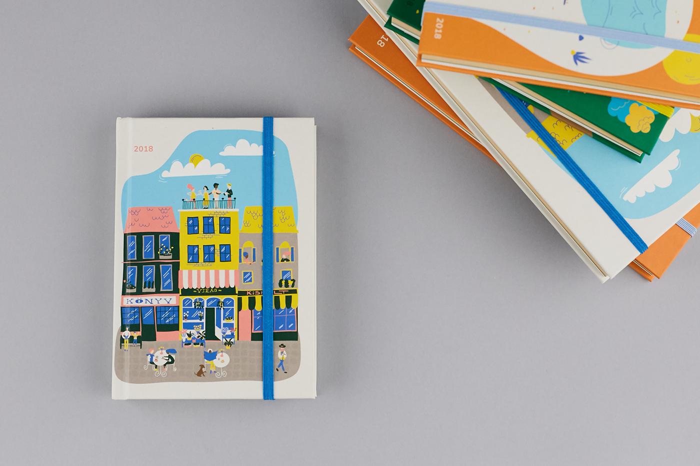 有創意感的36款月曆設計欣賞