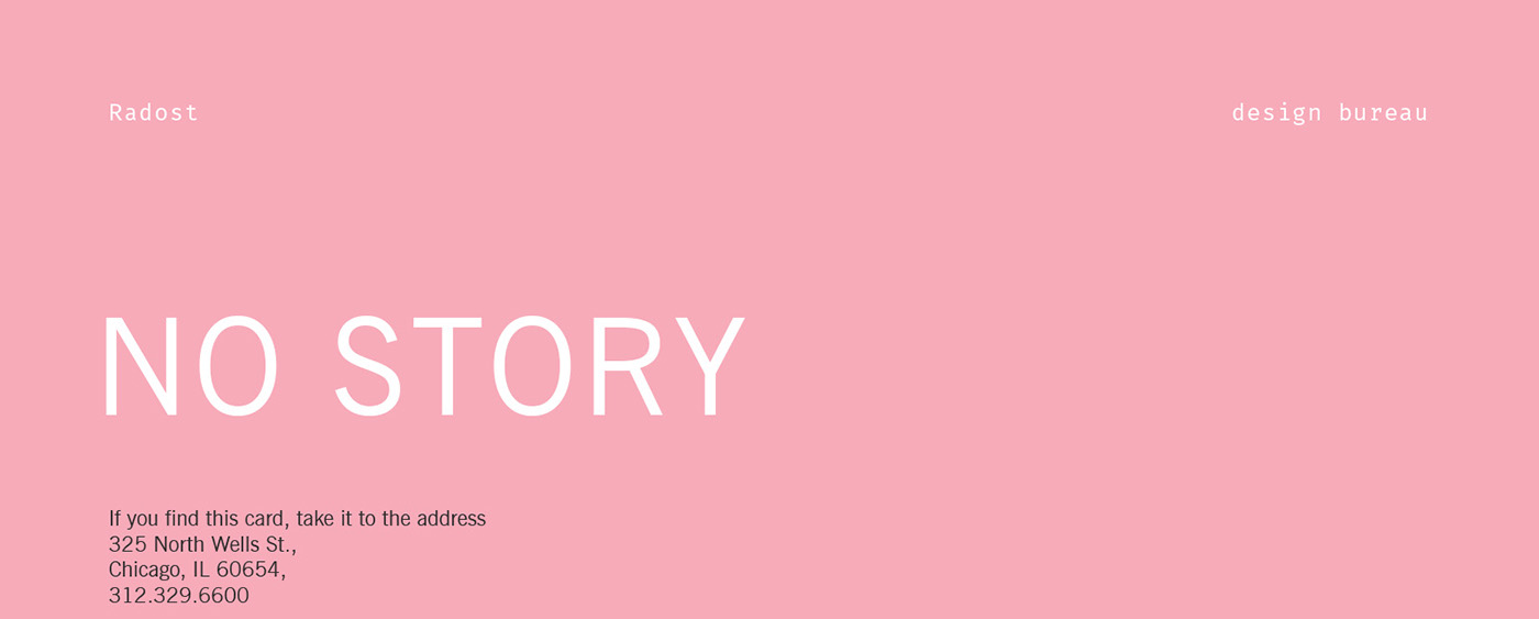 No story  Some psychology test-cards  on Behance