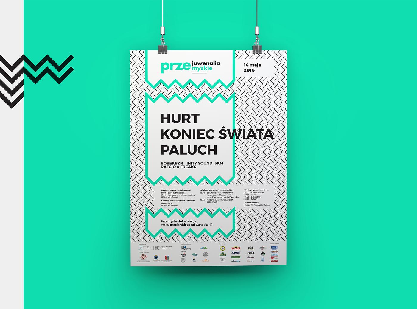 Przejuwenalia Przemyśl Przemyskie Juwenalia festival Event student Podkarpackie Pwsw projektowanie graficzne