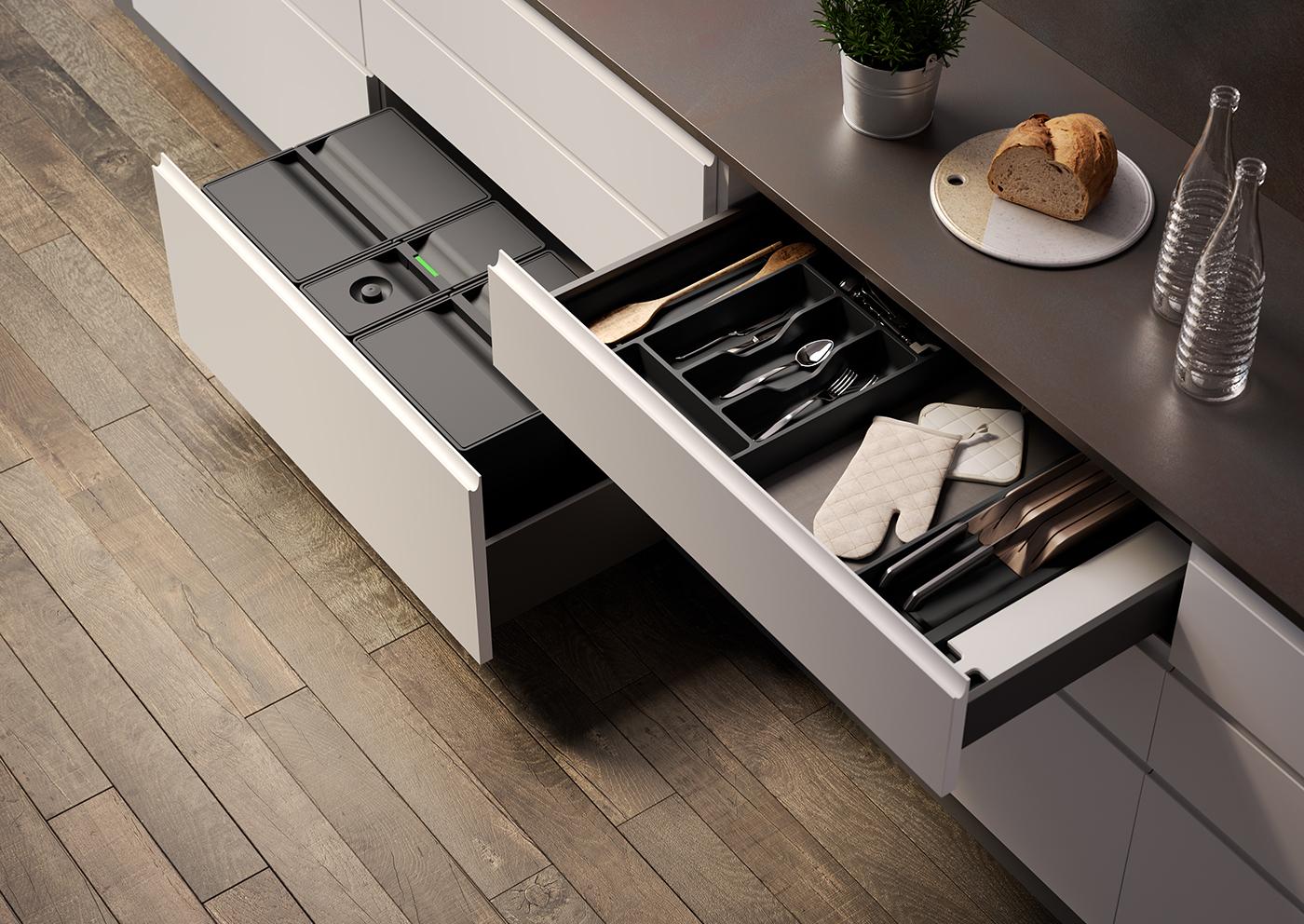 kitchen bathroom accessories rendering Interior design inspire