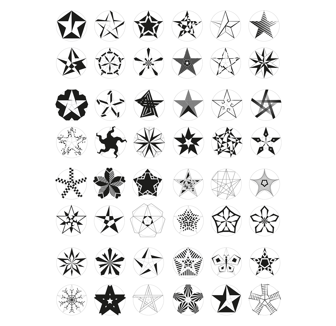 Five pointed star symbol design on behance 1st trial digital draft biocorpaavc Image collections