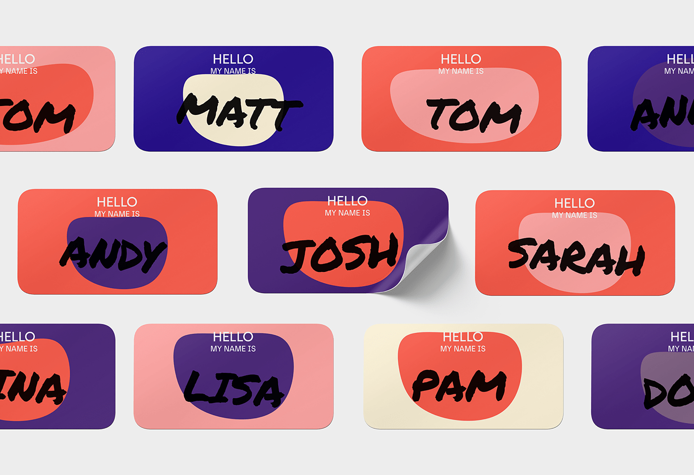 name stickers tak innovation