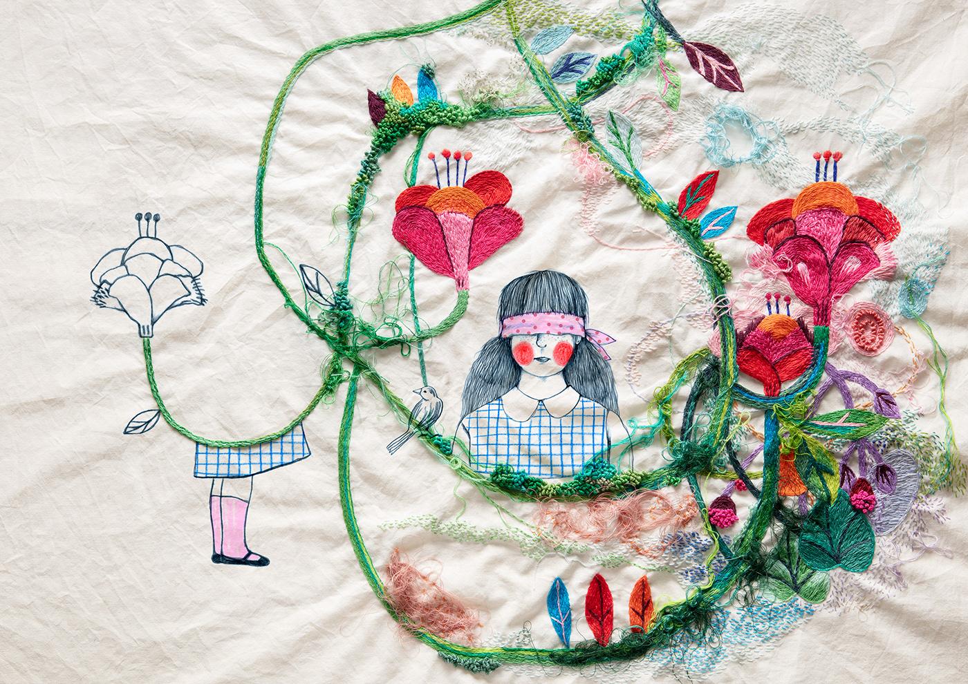 bordado ilustracion premio