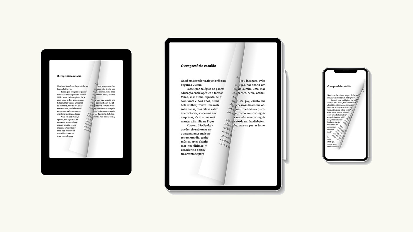 Inside pages on e-reader, tablet and mobile devices.