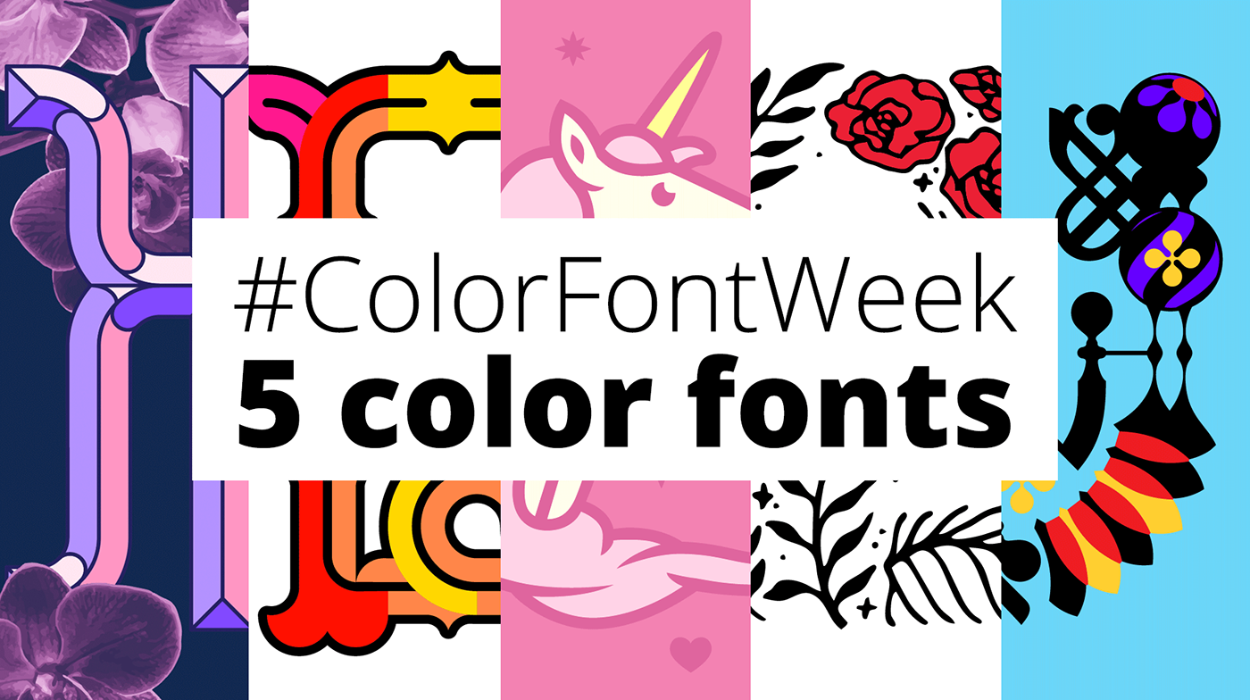 fonts typography   color chromatic Opentype graphic valentine letters alphabet free