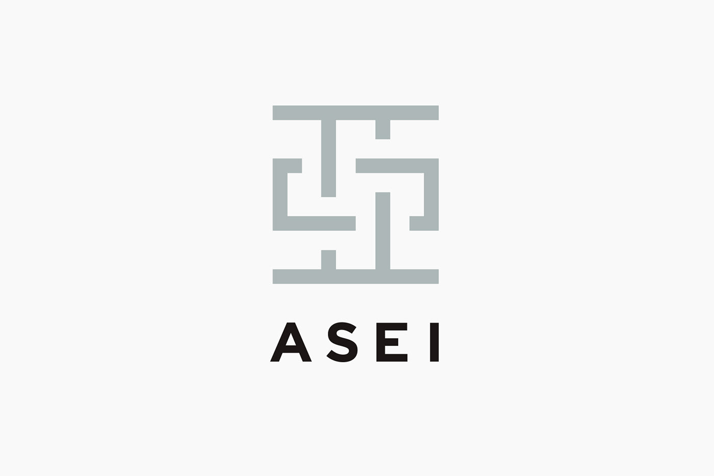 architecture kanji Chinese Character asia 建築事務所 typography   タイポグラフィ 漢字 漢字ロゴ