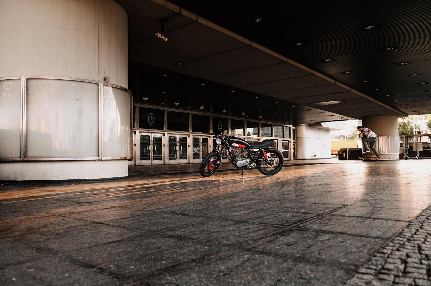 caferacer Custom custombike motorcycle motorcycle design sr500 yamaha