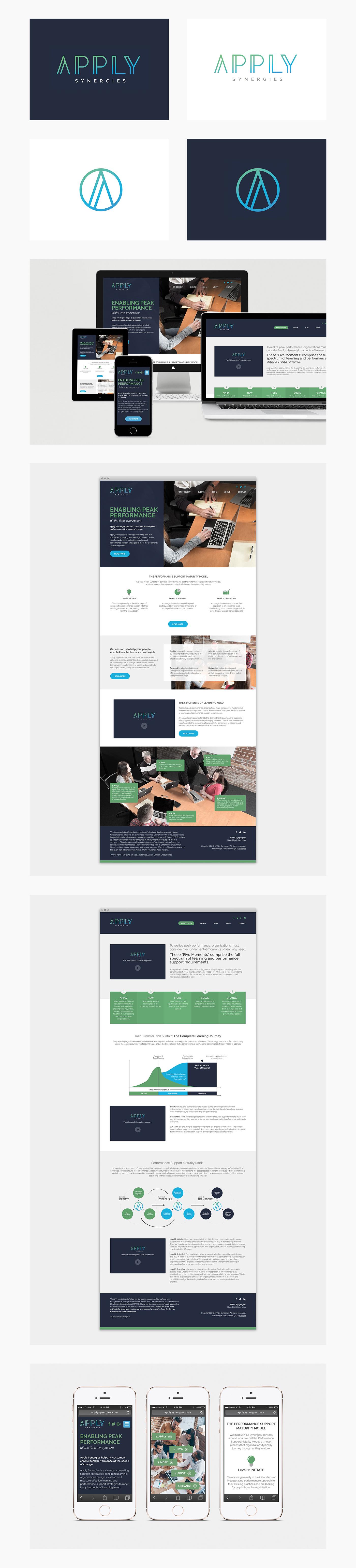 Website Design branding  Logo Design