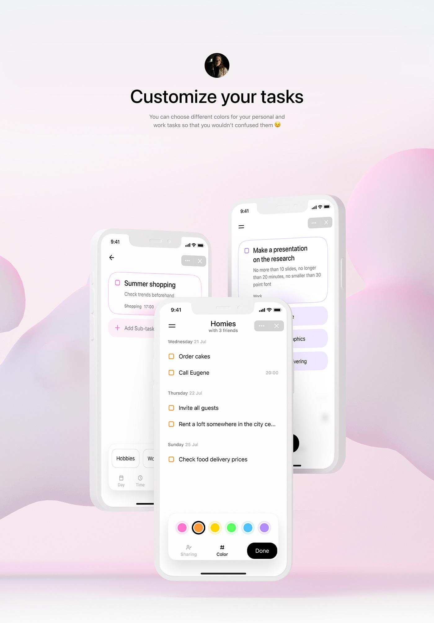 application Experience mobile Mobile app ui design UI/UX user interface ux