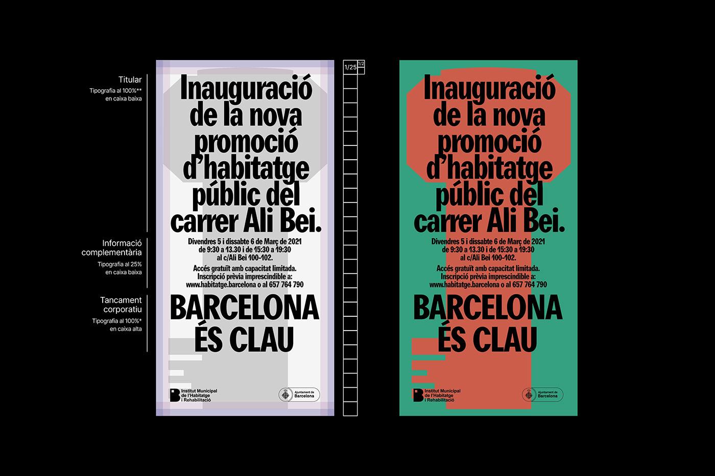 barcelona branding  barcelona city council city colors Graphic code key visual identity visual system