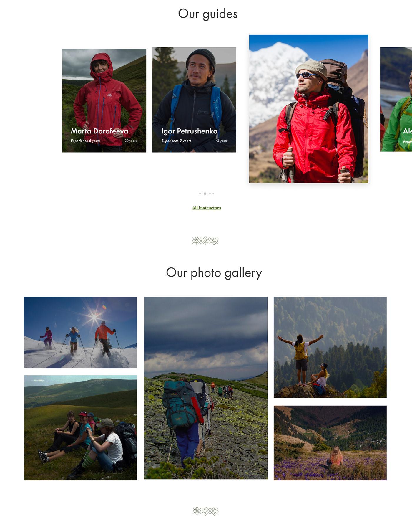 Image may contain: skiing