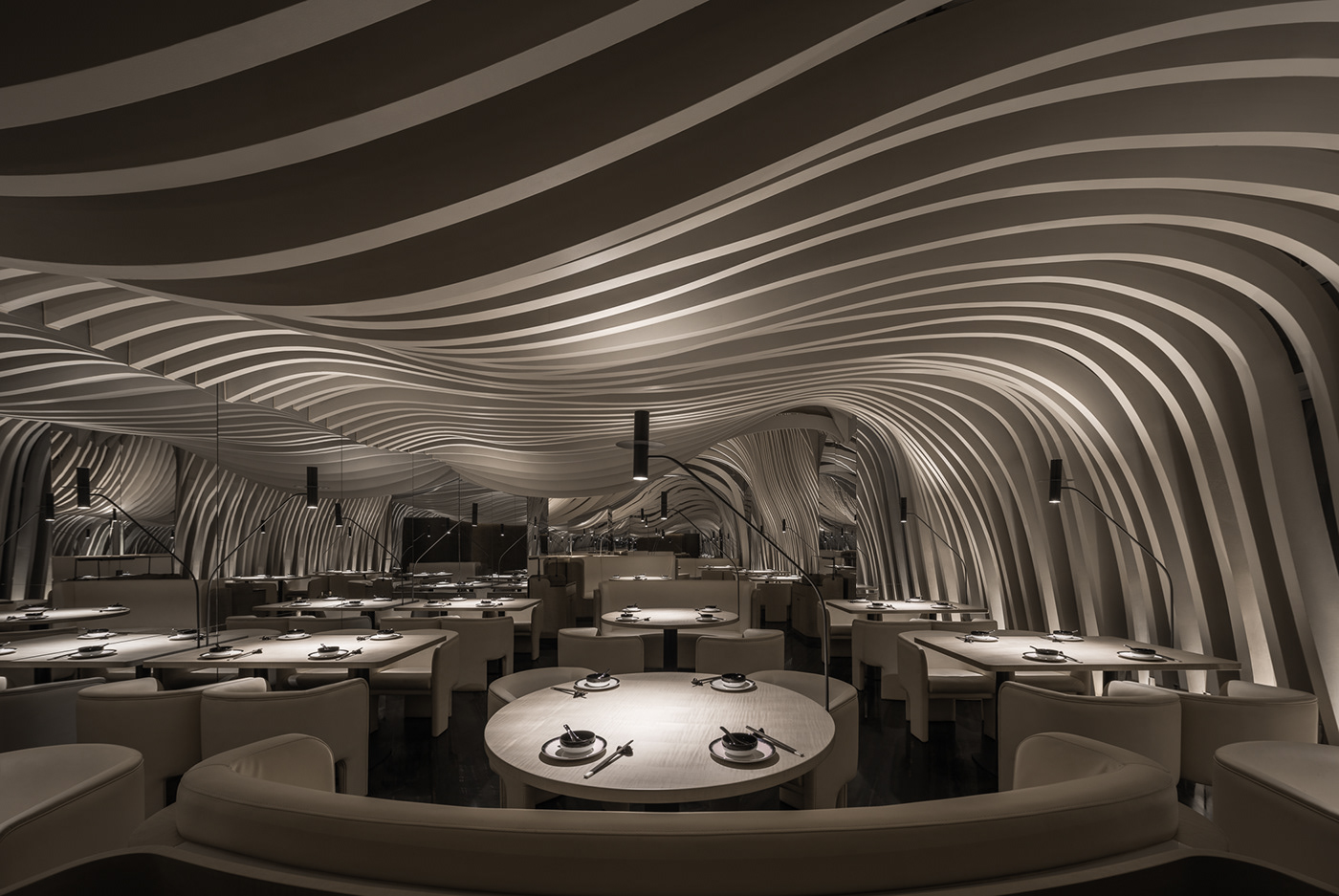 interior design  Landscape Molí Photography  restaurant Shenyang studio TEN Tan xiao 山水·茉里