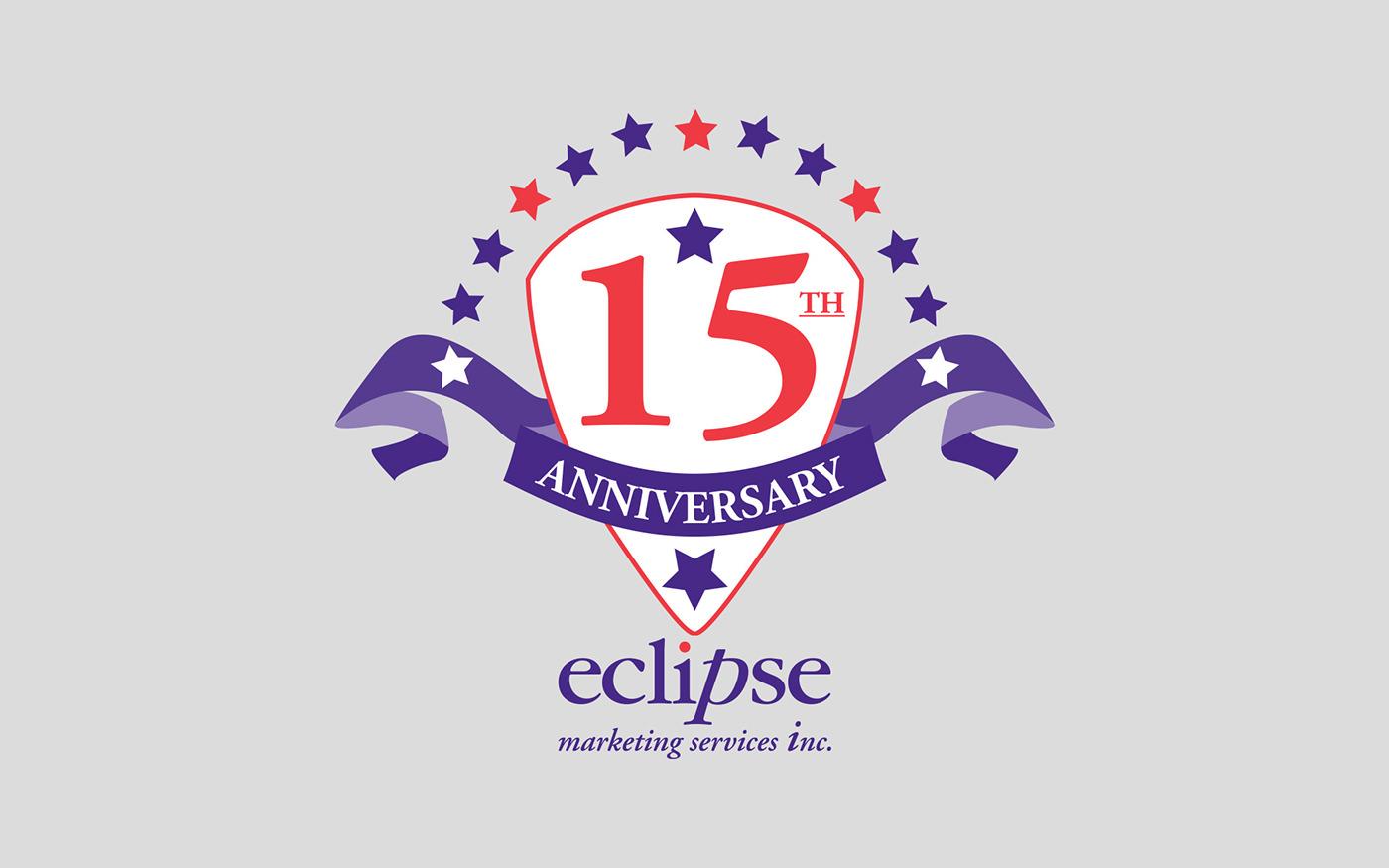 eclipse  15th  anniversary artwork poster  logo