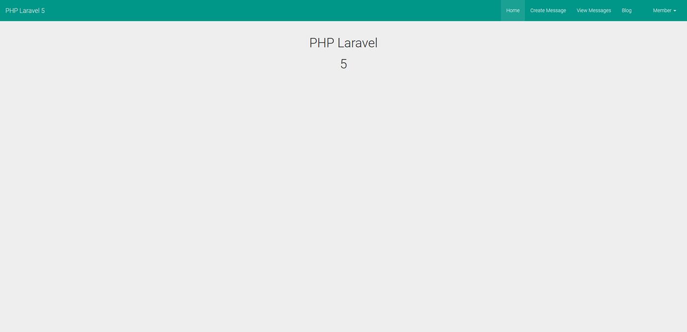 PHP Laravel 5 Blog System
