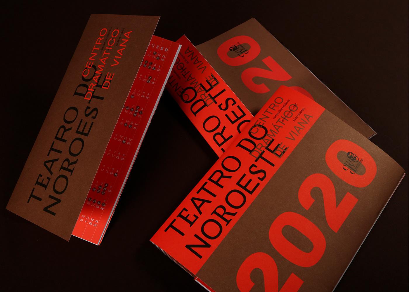 centrodramaticodeviana design editorial graphic design  teatrodonoroeste Theatre