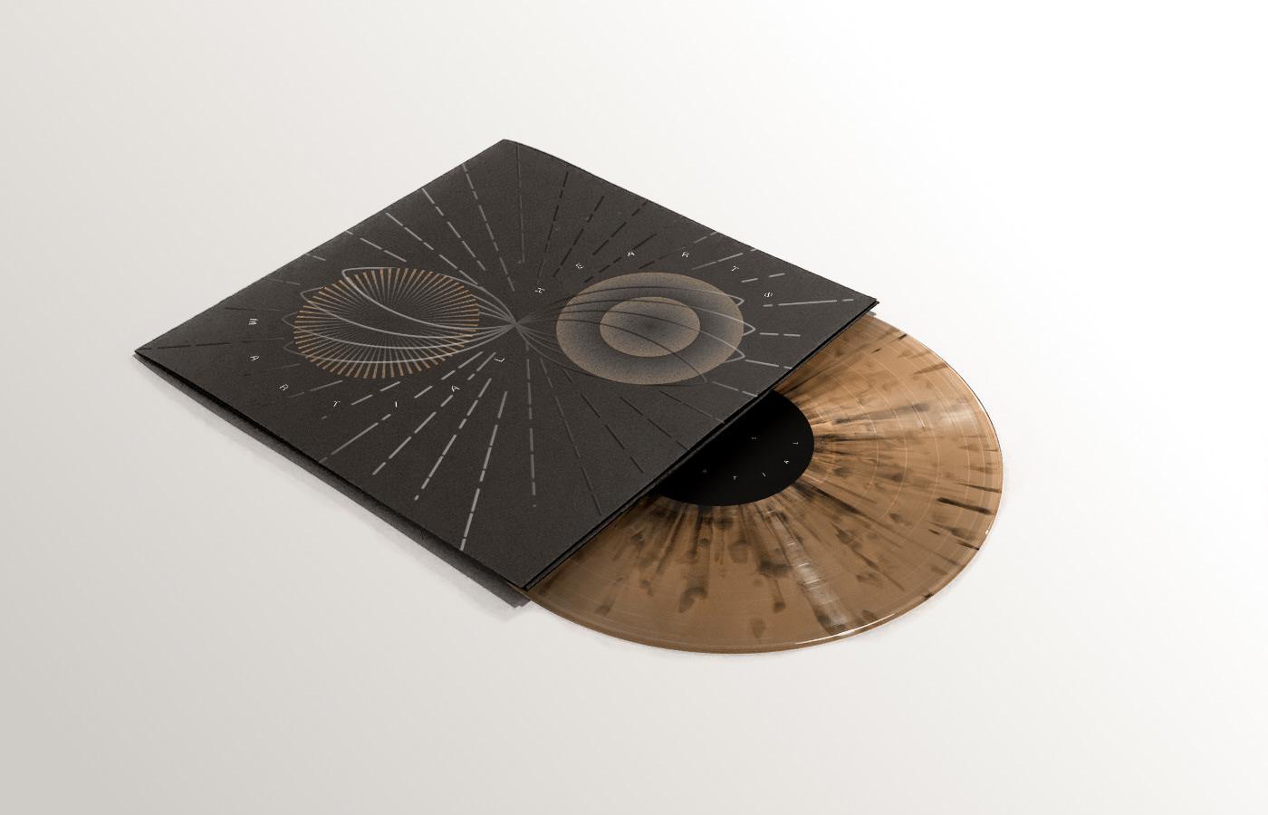 cd cover gold golden hearts martial roche vinyl