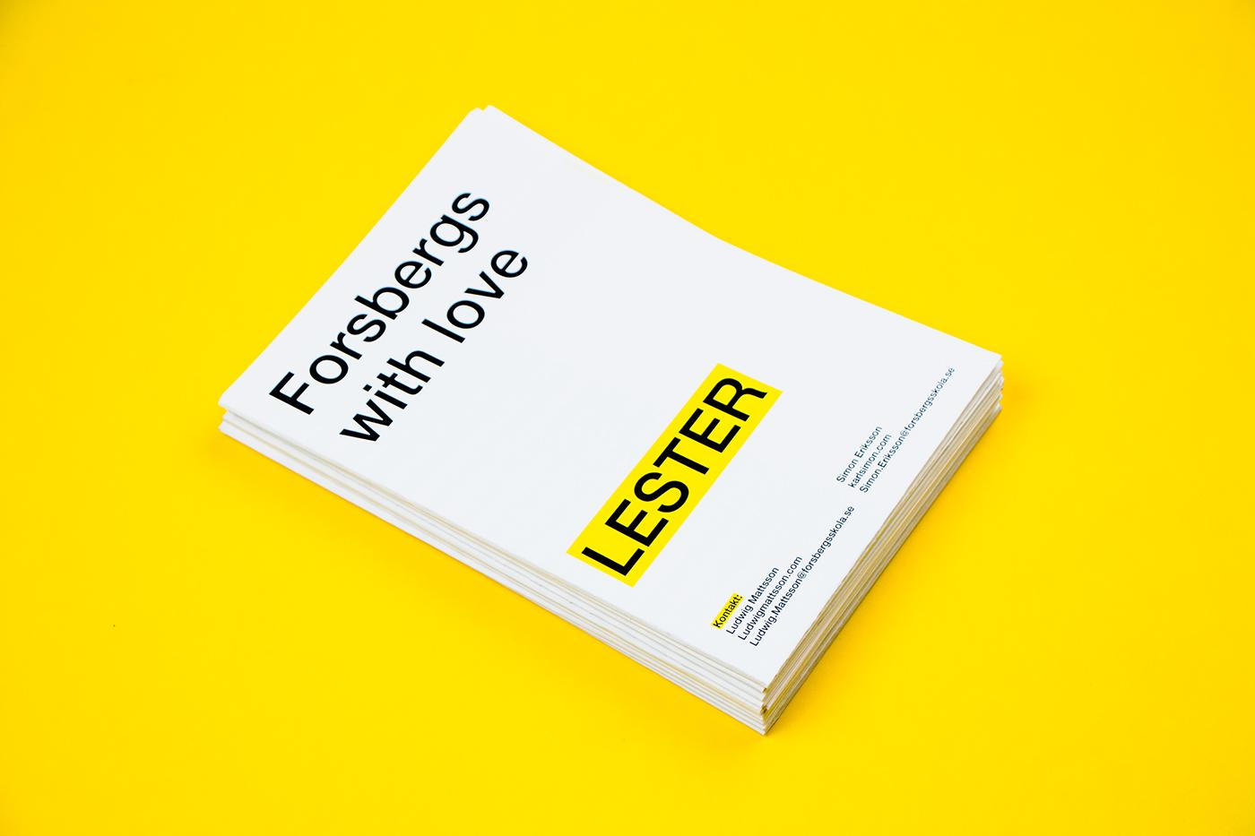 Lester book holder holder 3d print 3D design pocket book Page Holder Helvetica Neue package design  instructions poster