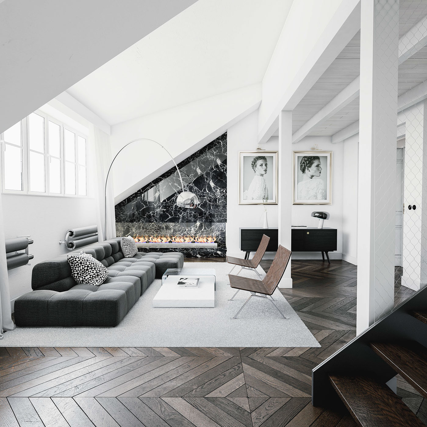 Prague Apartment On Behance