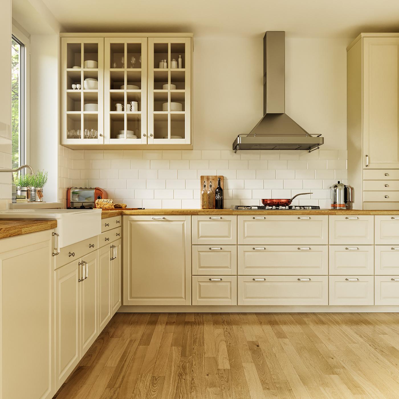 Ikea Kitchen Design Software Free: Ikea Bodbyn Kitchen