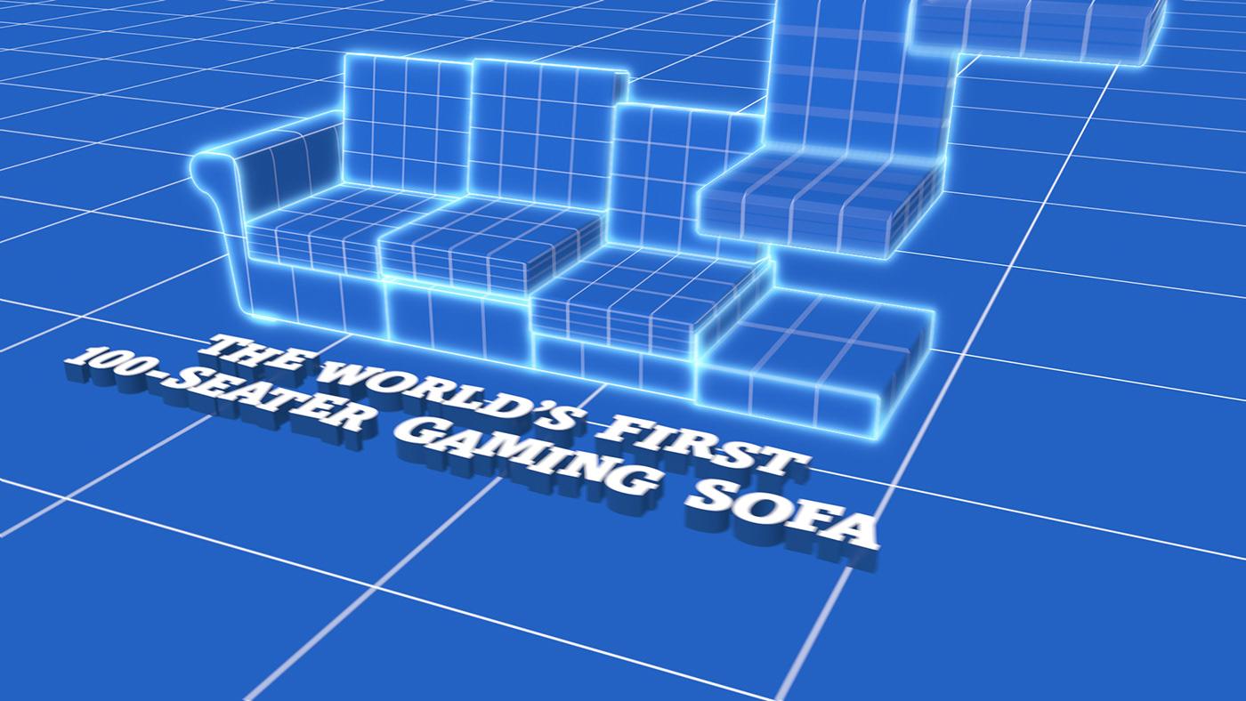 Blueprint,c4d,Sound Design ,vfx,CGI,MoGraph,simulation,Render,product,typography