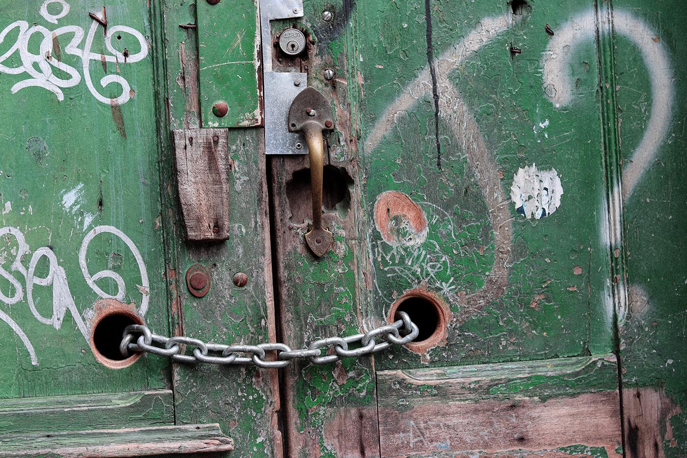 Image may contain: door handle