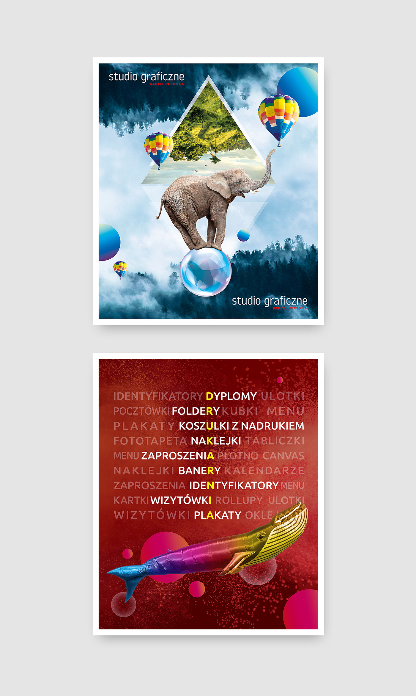 banner colorful identity Printing visual