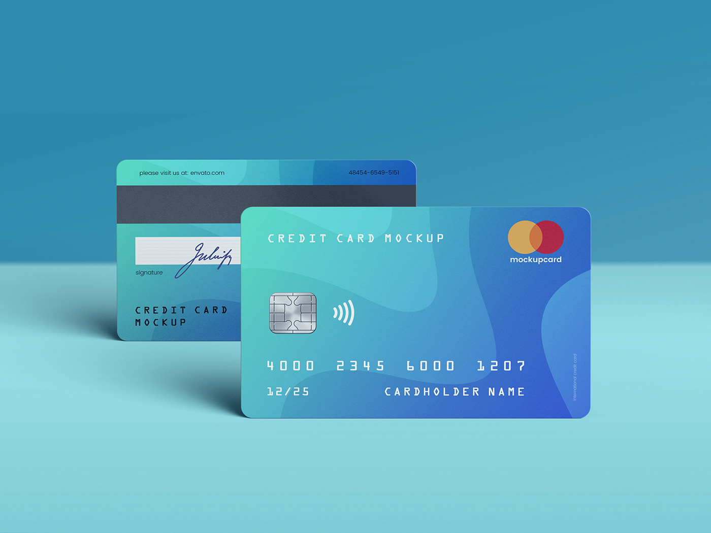 Credit Card Membership Mockup On Student Show