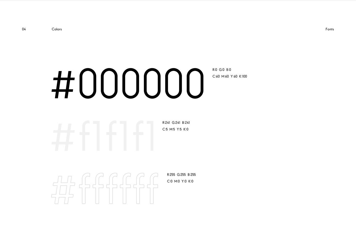 UI graphic design  identity showreel creative agency black minimal grid ux animation