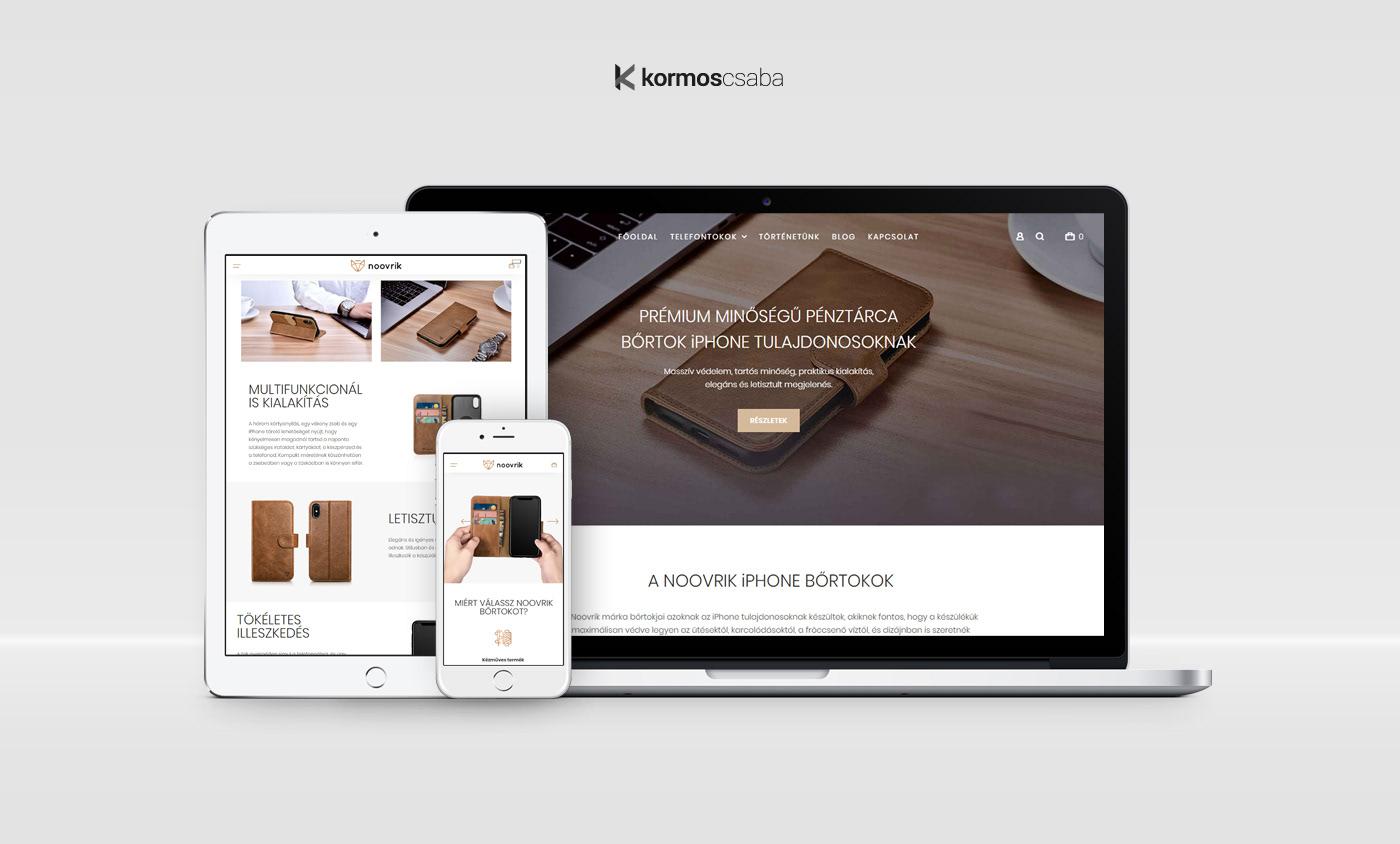 Art Director Webdesign branding  UI ux webshop iphone Responsive e-commerce store