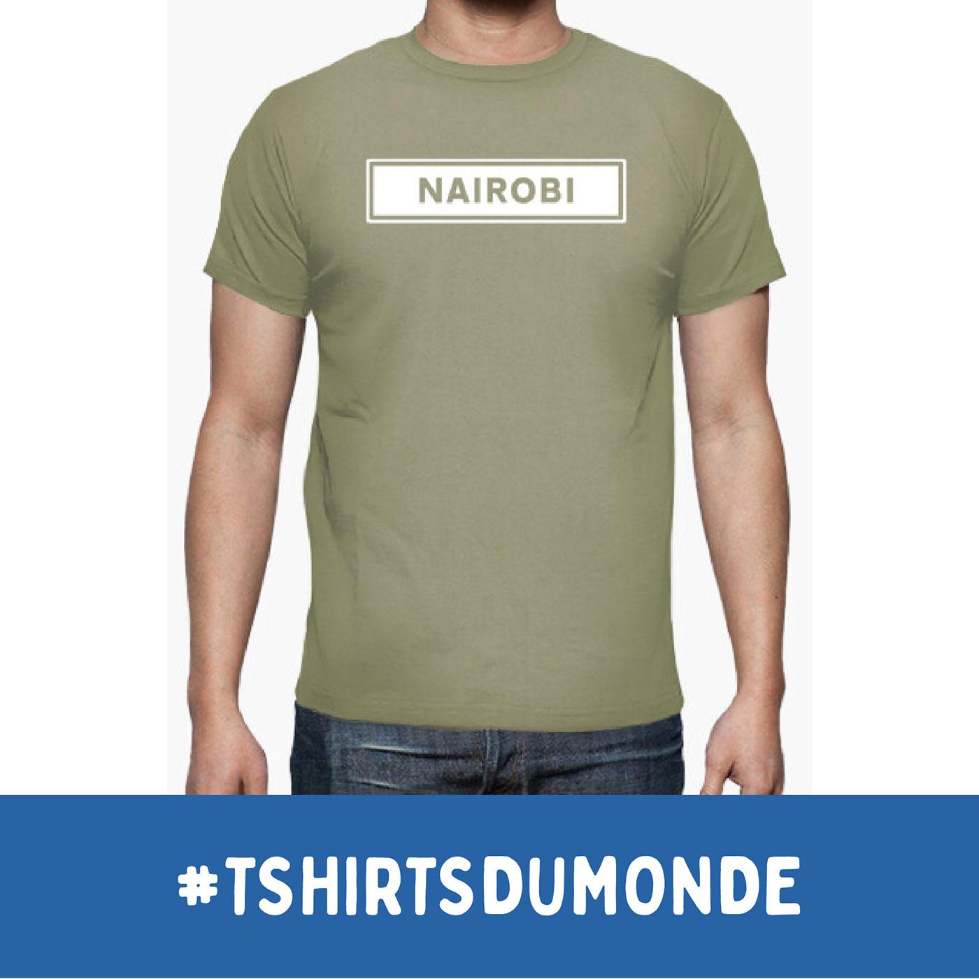 NAIROBI / T-SHIRTS DU MONDE Collection, by Brassens Studio / ©Tomás Sastre