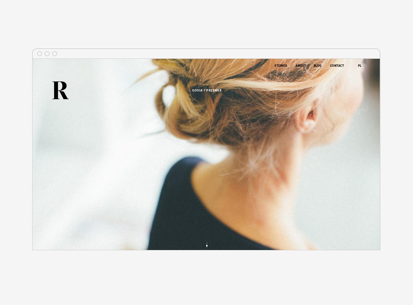 Photography  Webdesign typography   Website visual identity branding