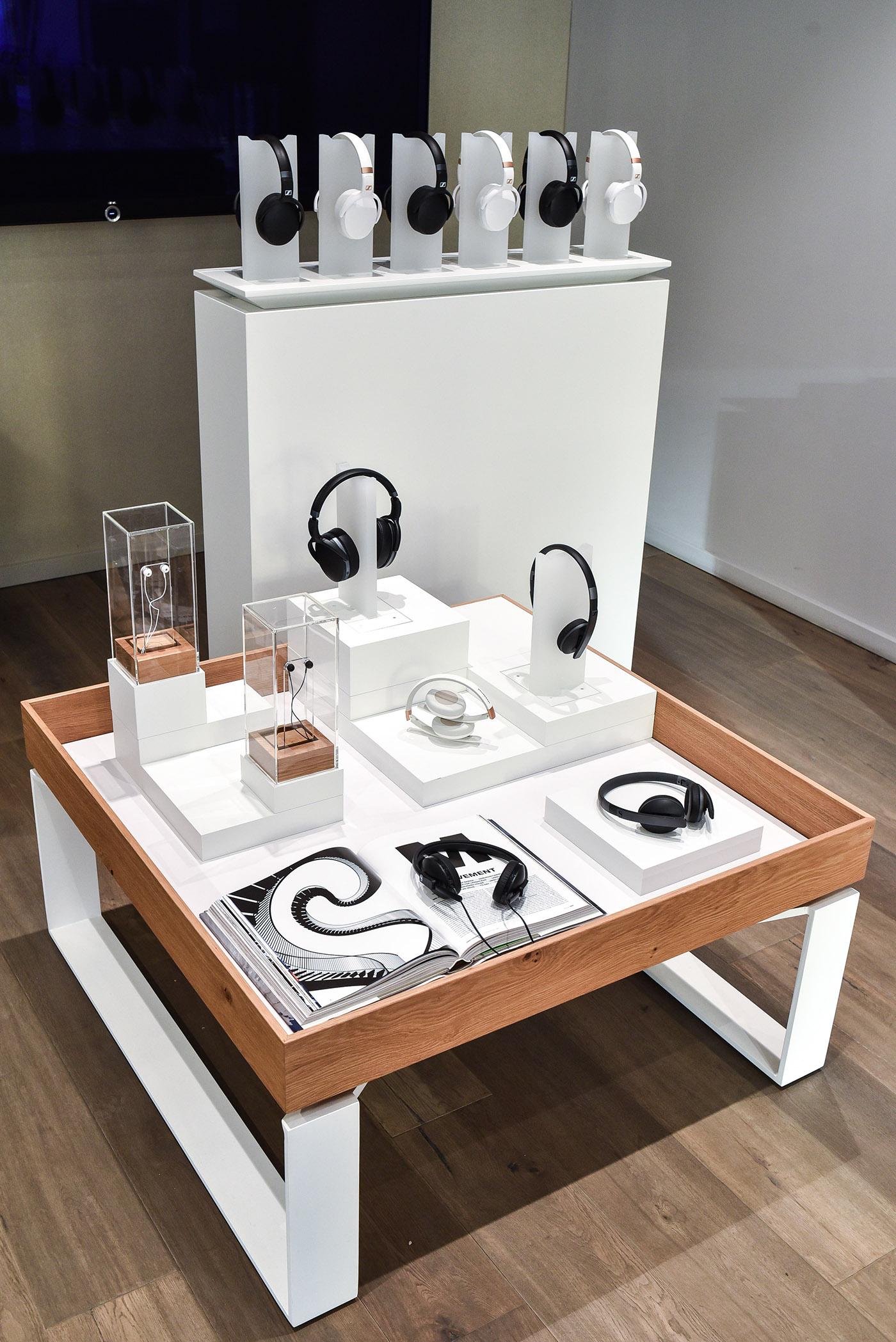Retail Design | Sennheiser Store Berlin on Behance