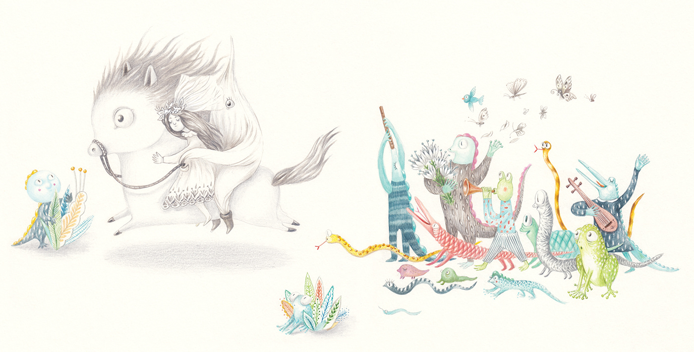 ILLUSTRATION  fairy tales book illustration best illustration Awarded Illustration