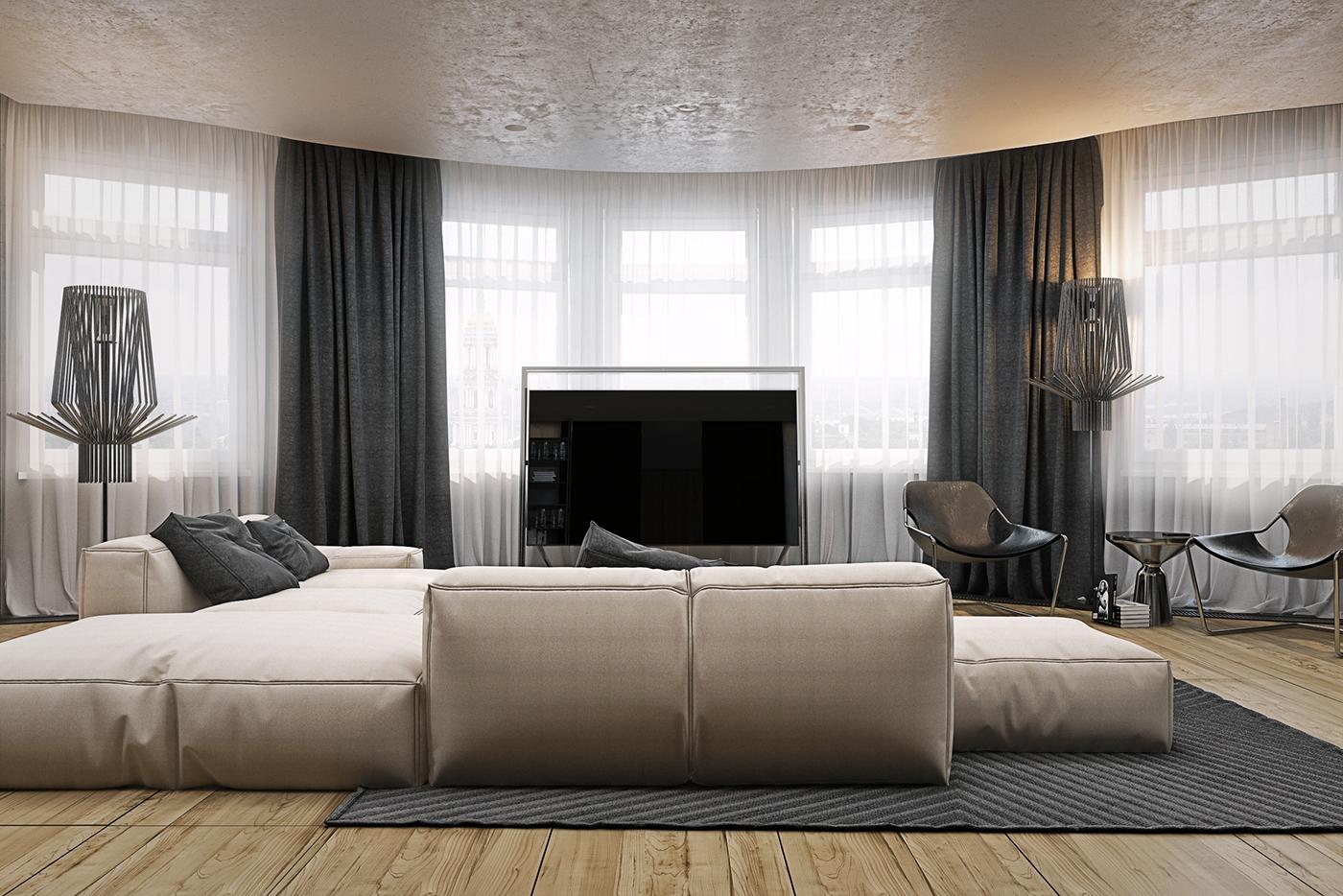 有美感的20張客廳主牆顏色欣賞