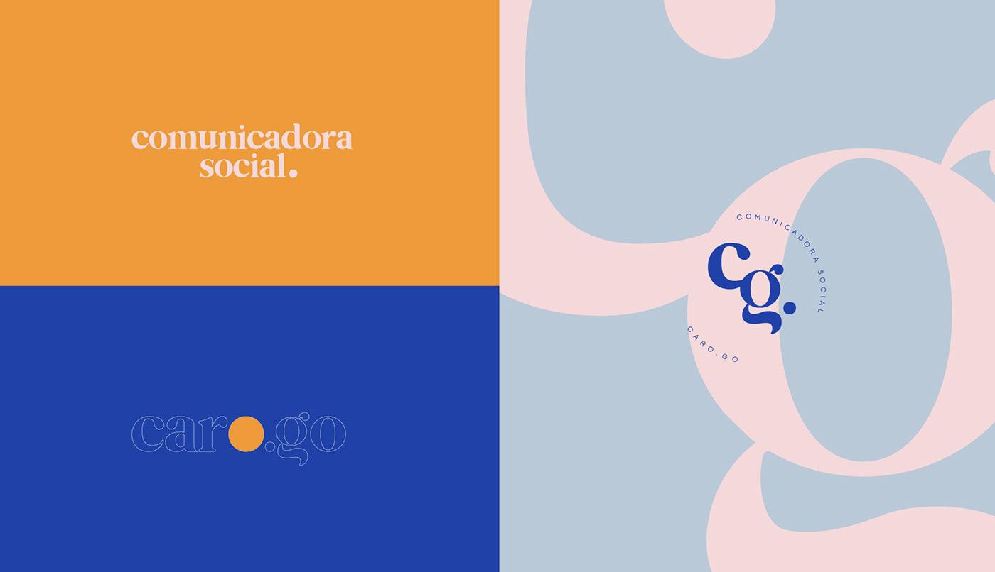 brand branding  community manager identity marca minimalist
