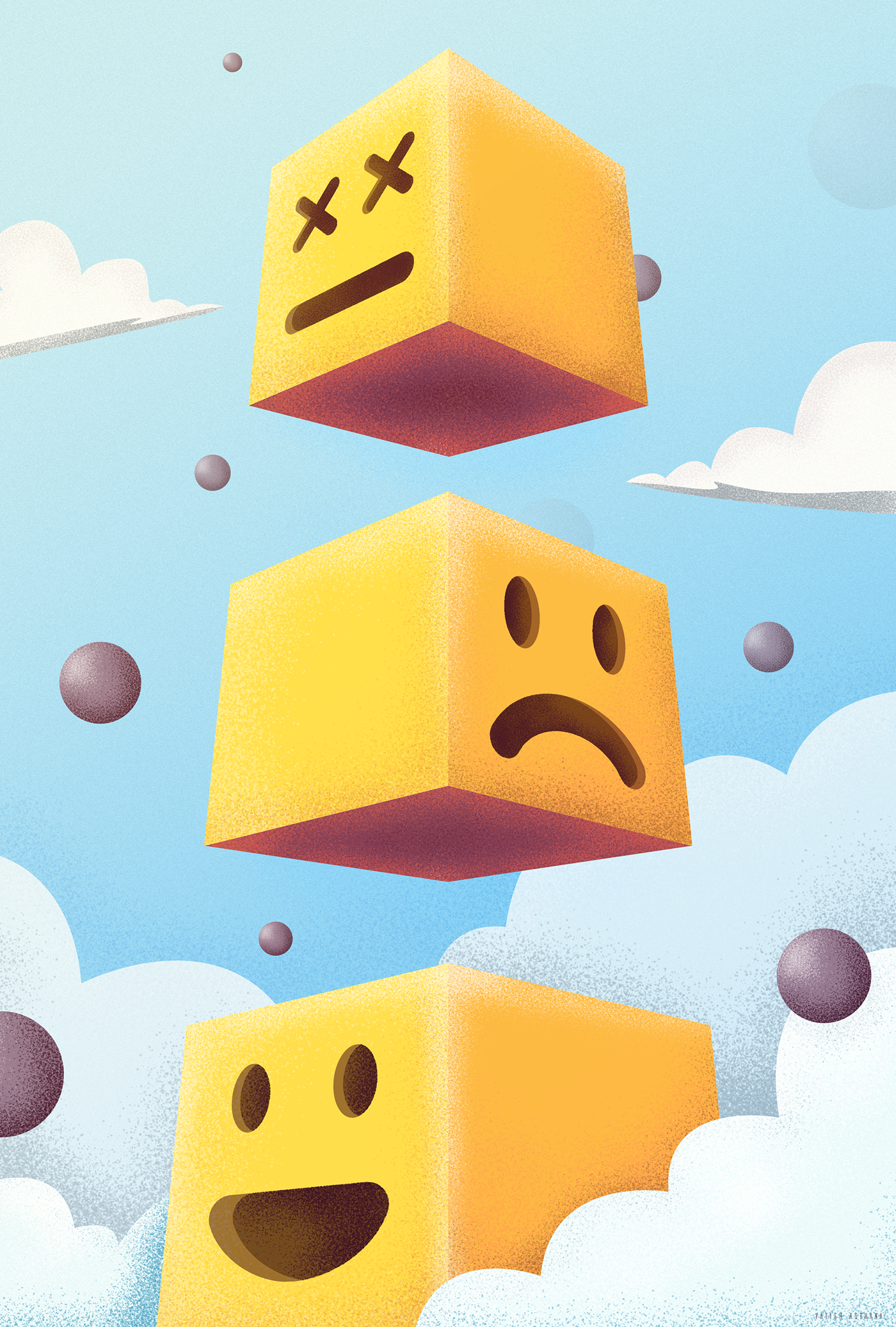 Level video game LEGO concept art Emoji yatish asthana India poster minimal SKY