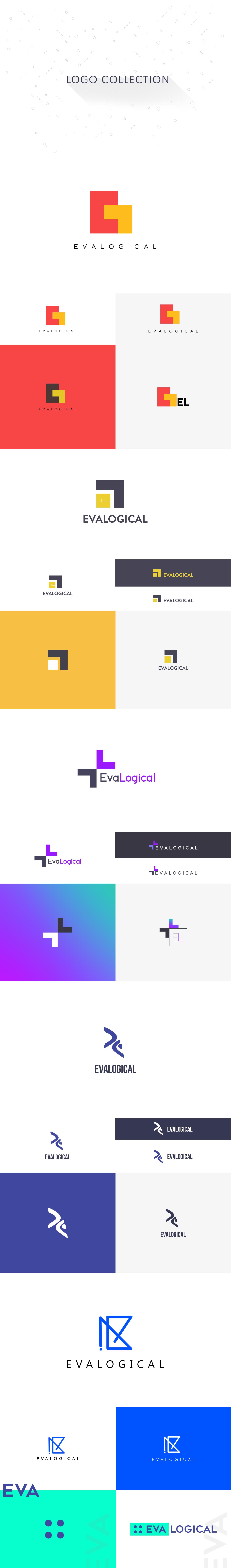 logo evalogical logodesign UI ux flat logo Design Concepts design studio trending design enterprise