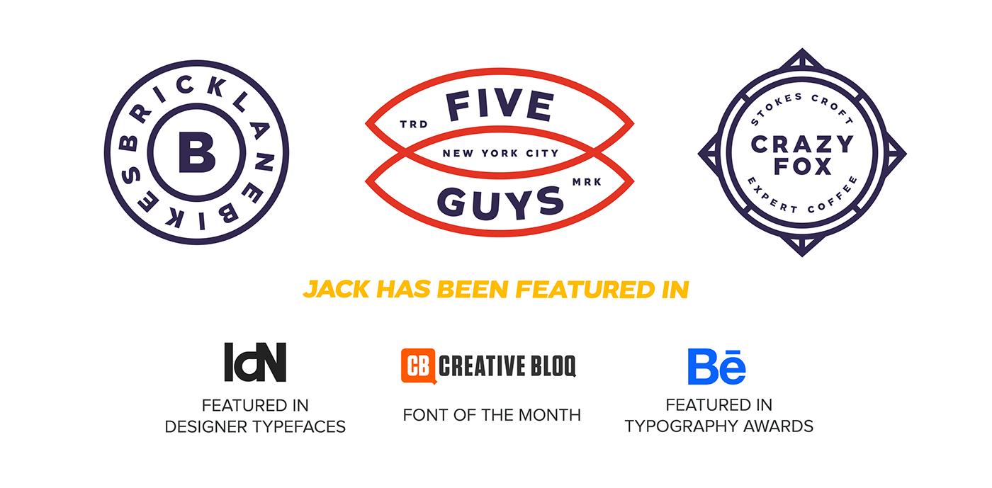 Jack Typefamily on Behance