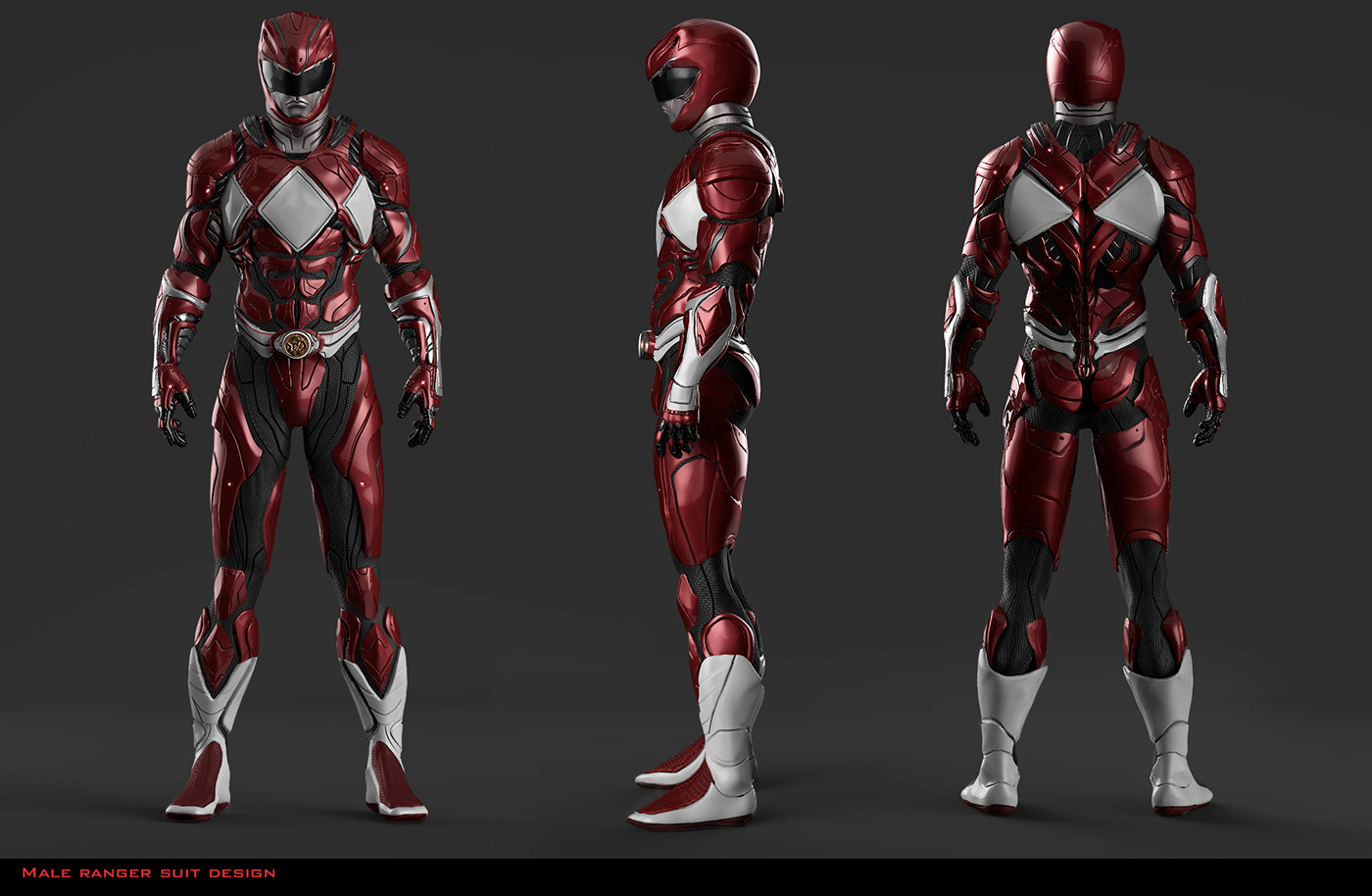conceptart Conceptdesign mmpr PowerRangers projectnomad suitdesign