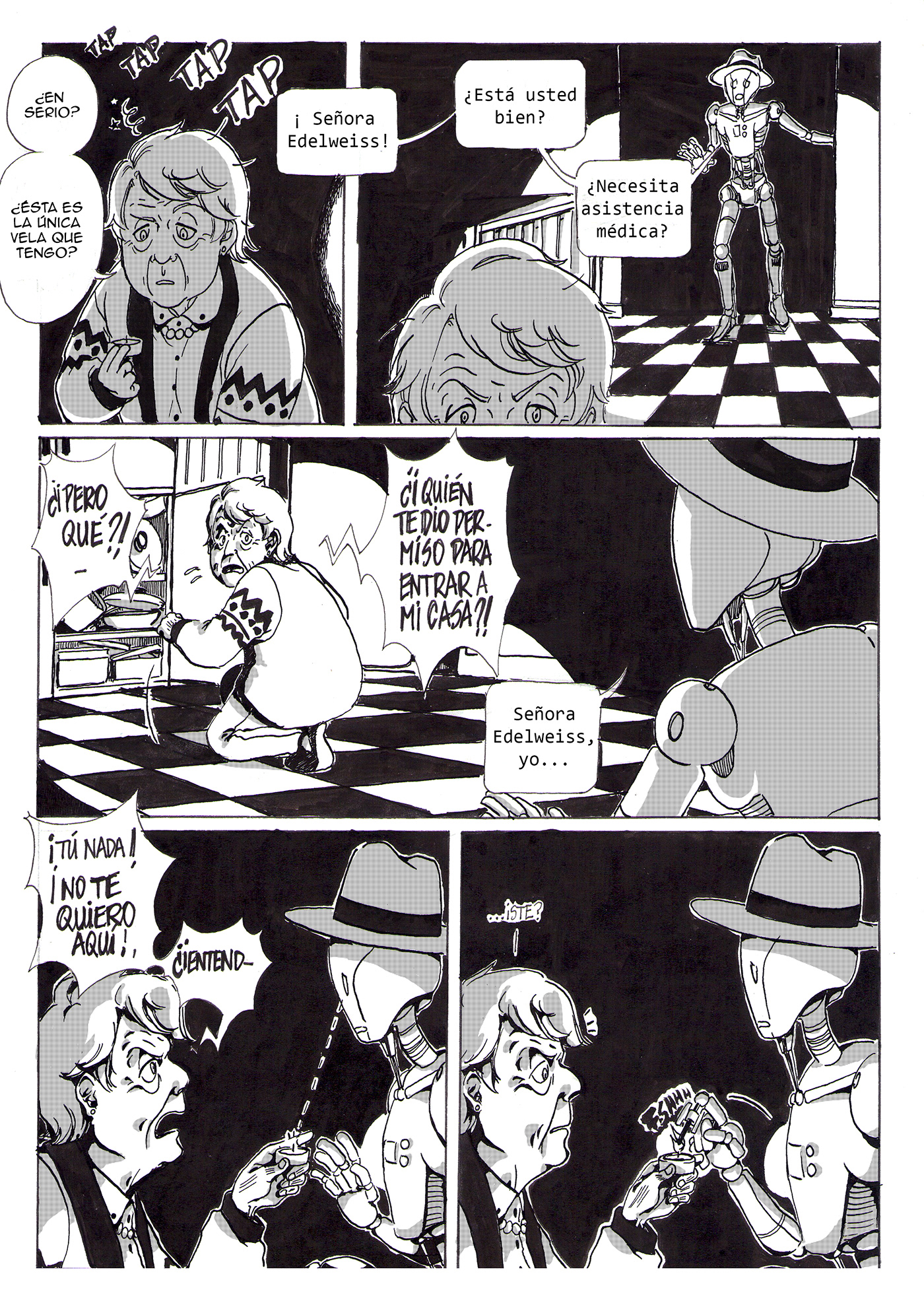 Image may contain: cartoon, book and comic
