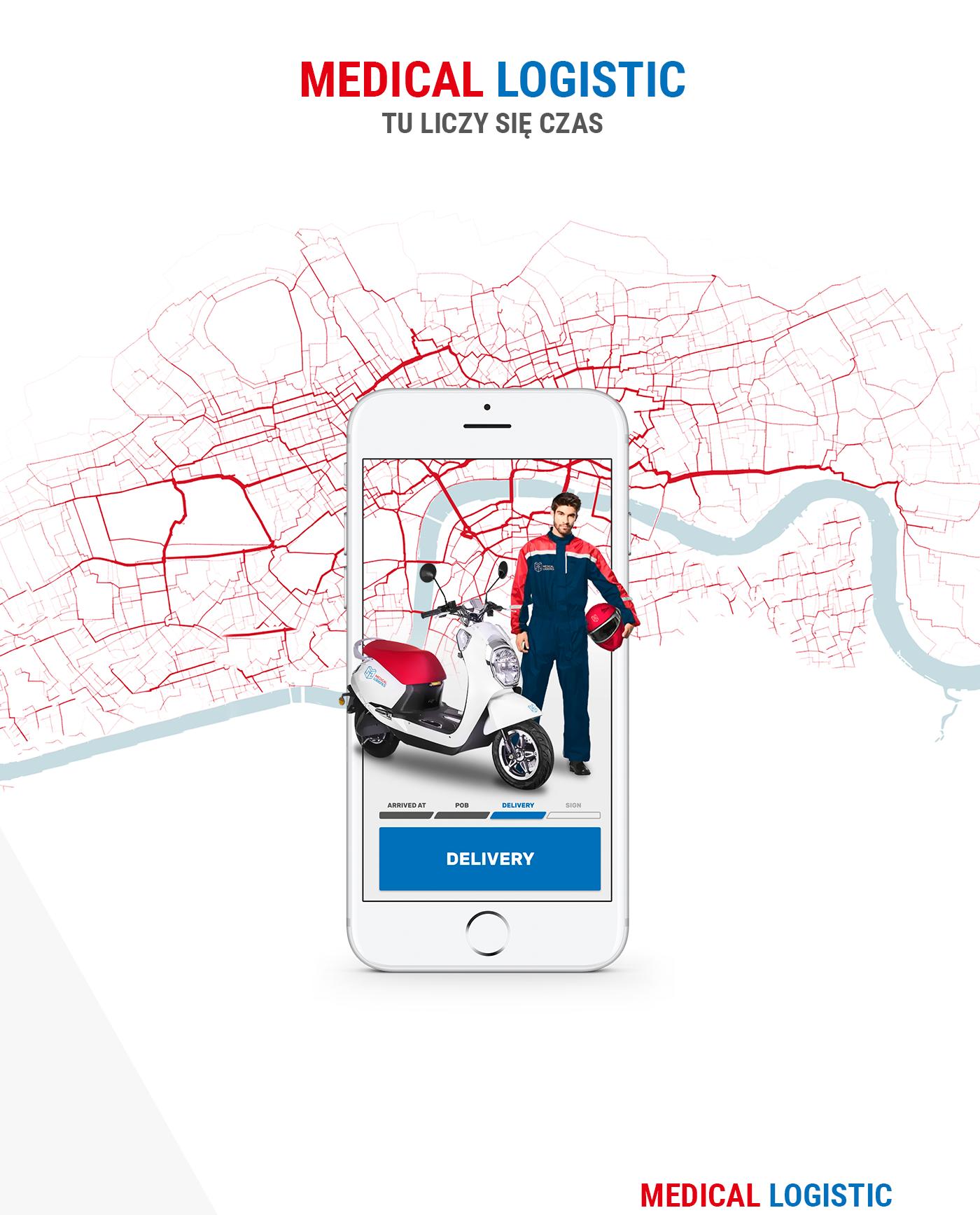 room33 ux UI design motion app Medical app Health App itgenerator iphone