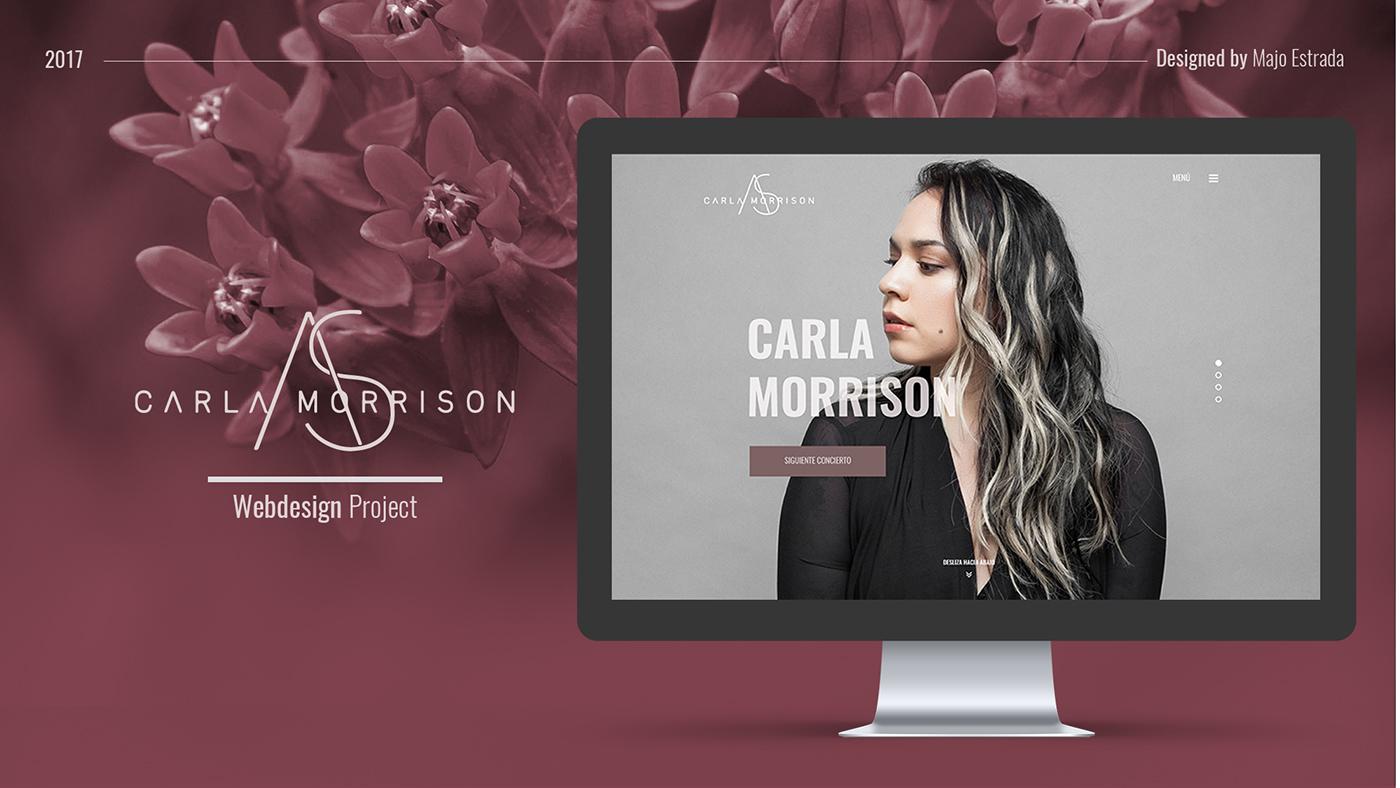 ux,Web Design ,graphic design ,webpage,Responsive Design,Minimalism,interfaz,online store,Singer Page,modern