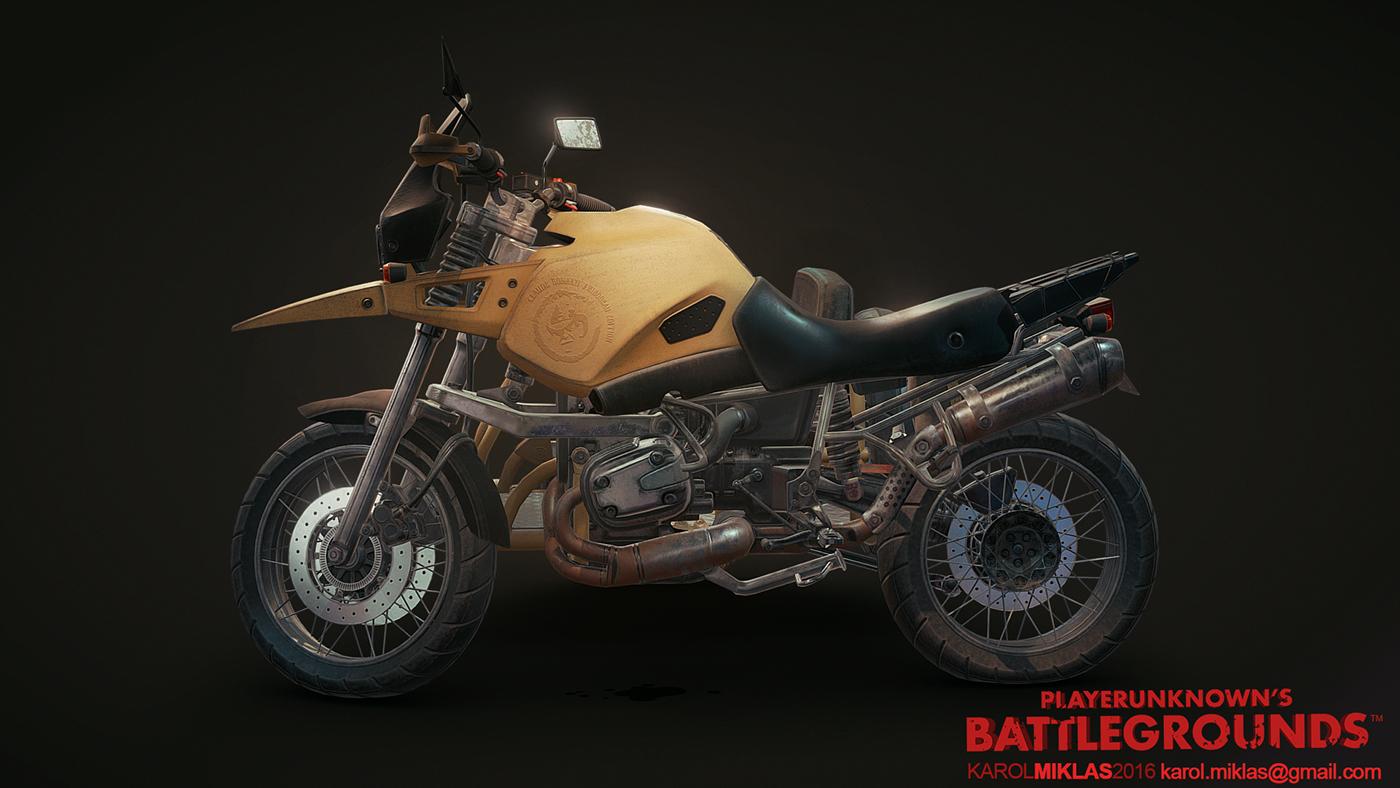 3d Model Playerunknown S Battlegrounds Buggy By Kmiklas: PUBG: Vehicles On Behance