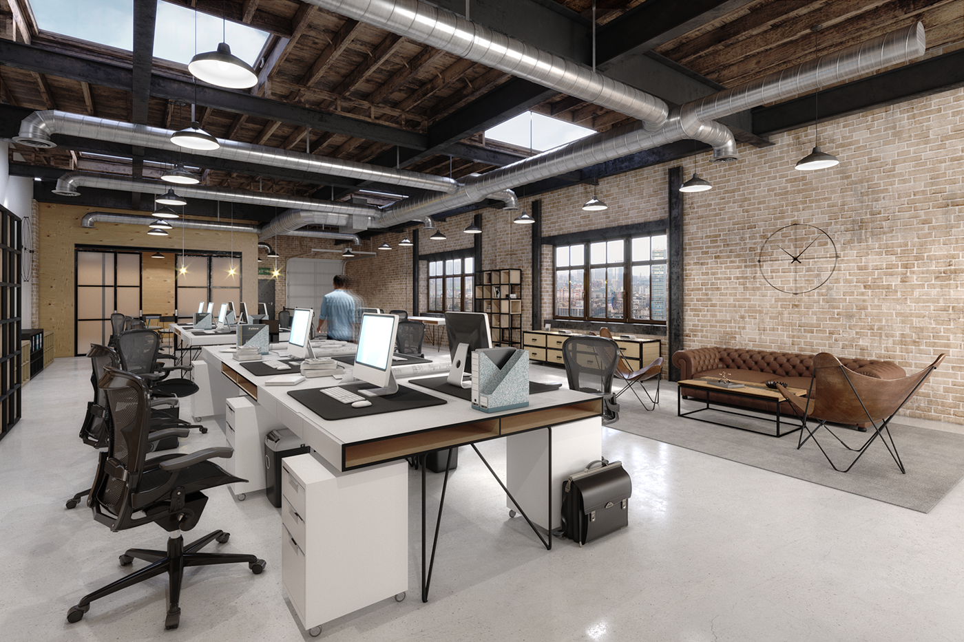 LOFT OFFICE SPACE On Behance