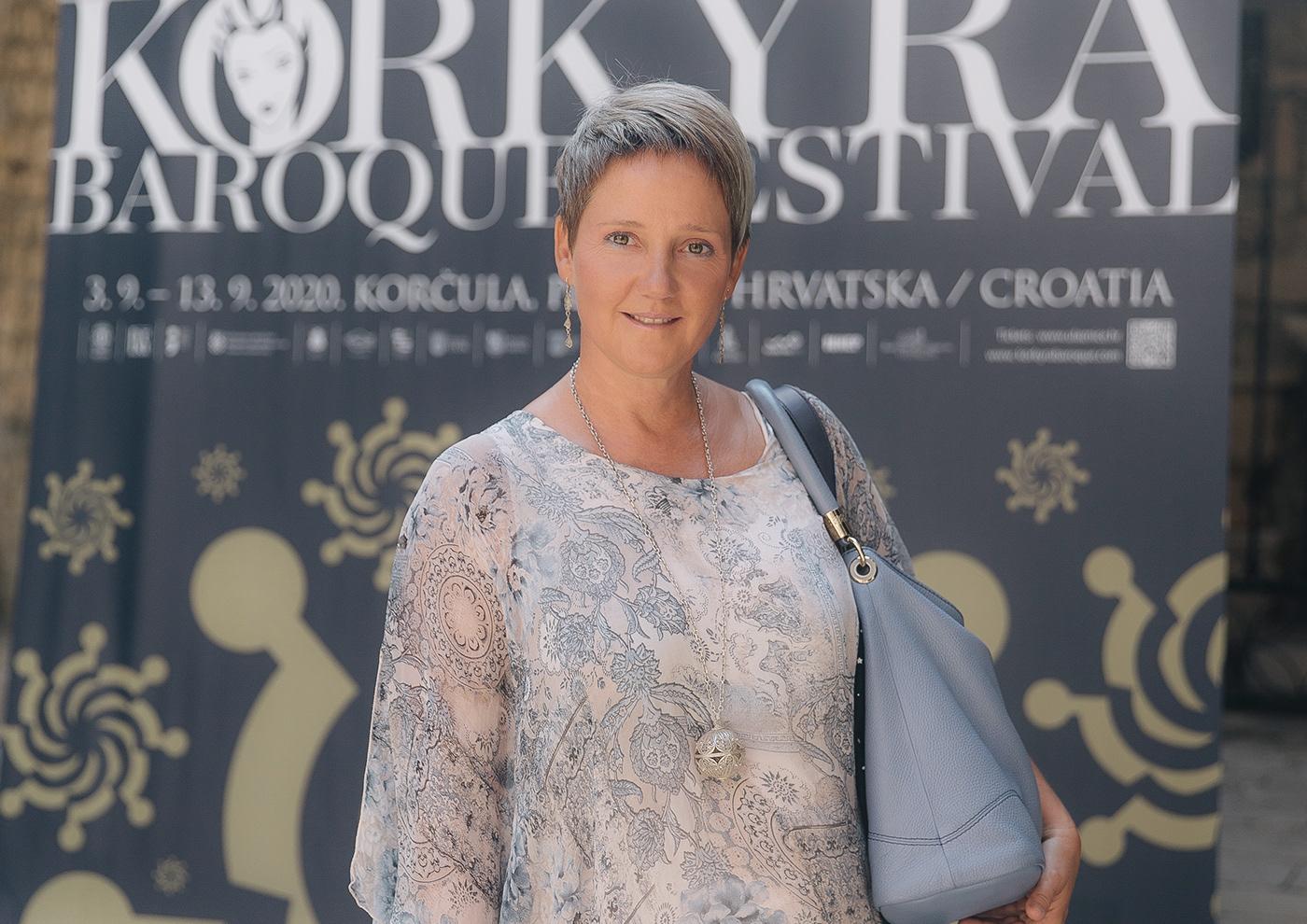 Boris Berc branding  classical music Croatian Baroque Ensemble festival Korcula  Korkyra Baroque Festival Laura Vadjon visual zvonimir ferina