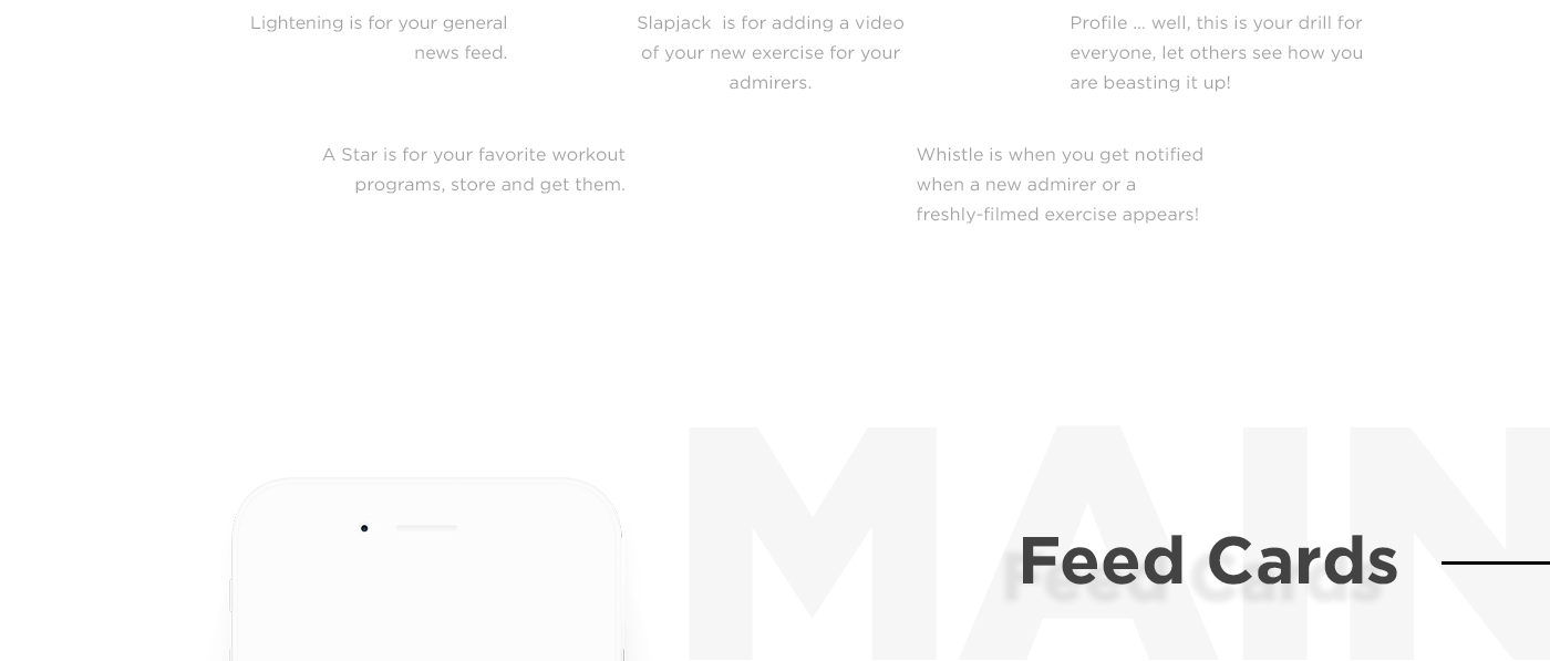 fitness UI Interface gym ios app athlete ux animation  sport