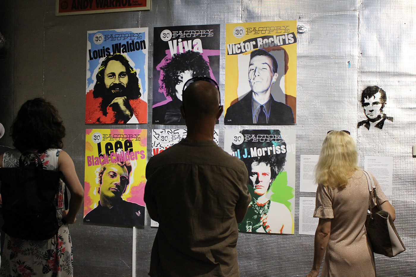 Andy Warhol cultura culture Exhibition  factory people modern art museum poster vernissage gallery